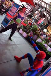 Spider Catches Saiyan