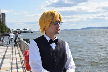 Shizuo On The Pier