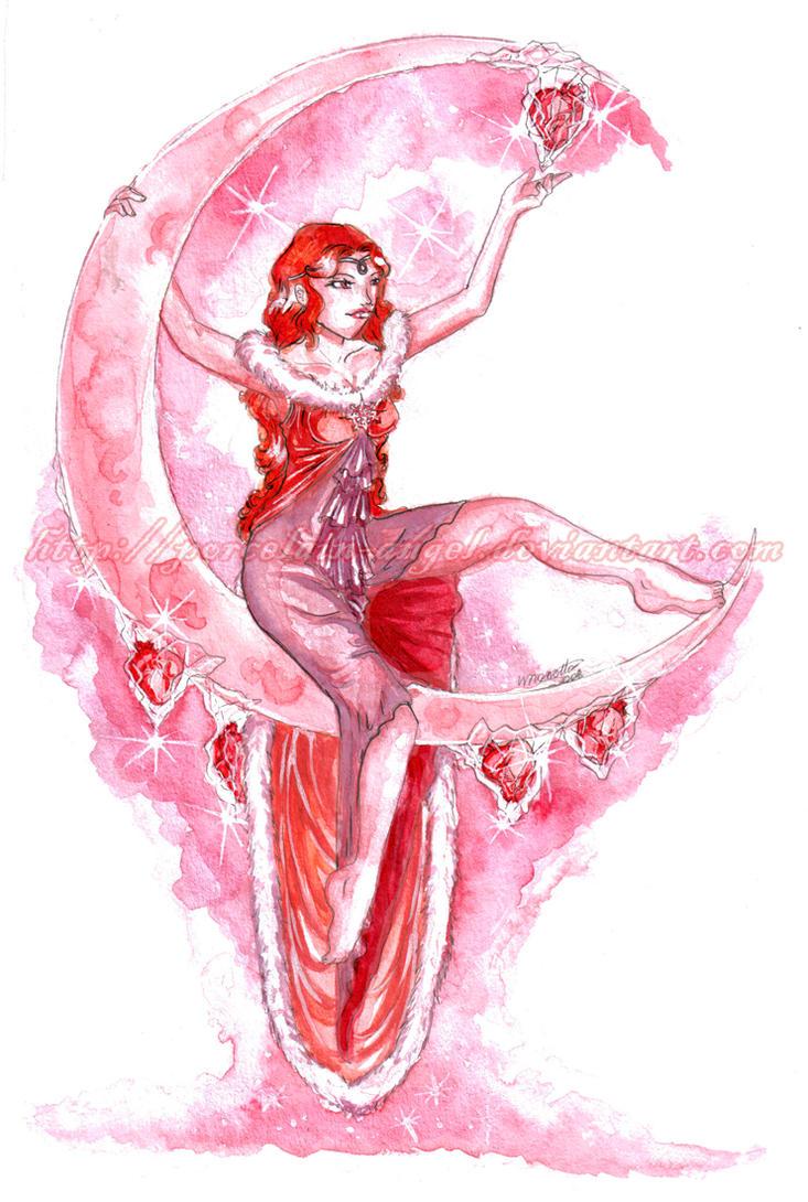 : I - Burning Red : by Porcelain-Angel