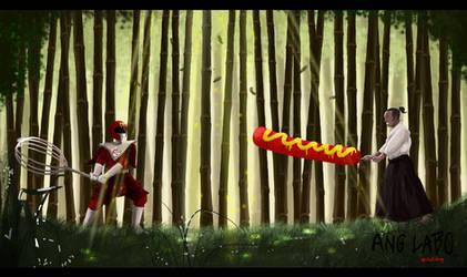 Ang Labo Series: Samurai Hotdog