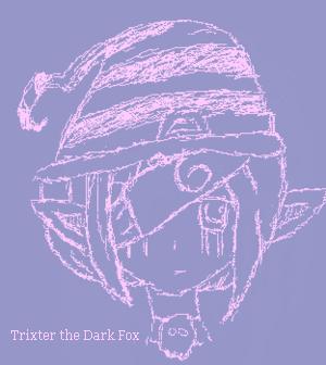 Trixter the Dark Fox by shygirl1999