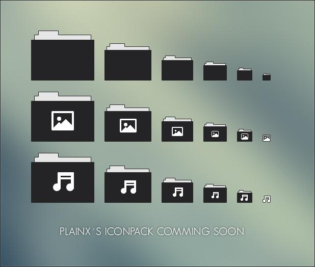 Plainx Iconpack soon... by Metalbone1988