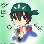 Happy Birthday Kaidoh Kaoru