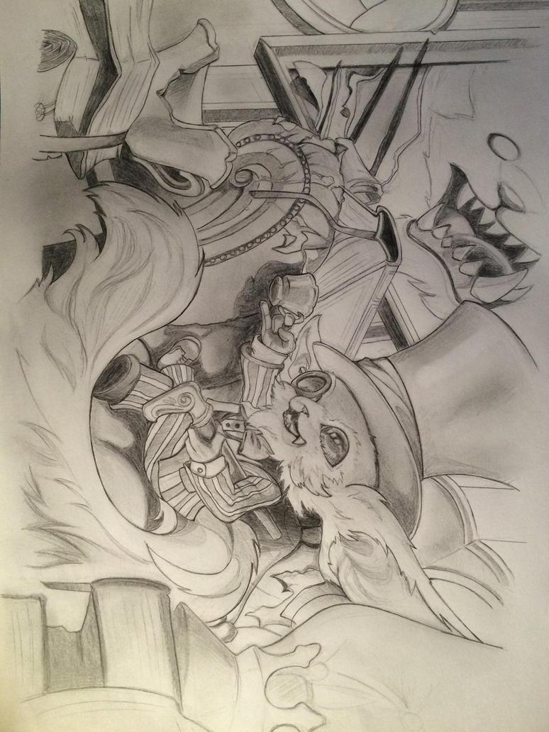 Gentleman Gnar - League of Legends by Ayumi9797 on DeviantArt