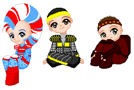 StEx Chibi Collection - Dolls by musicals