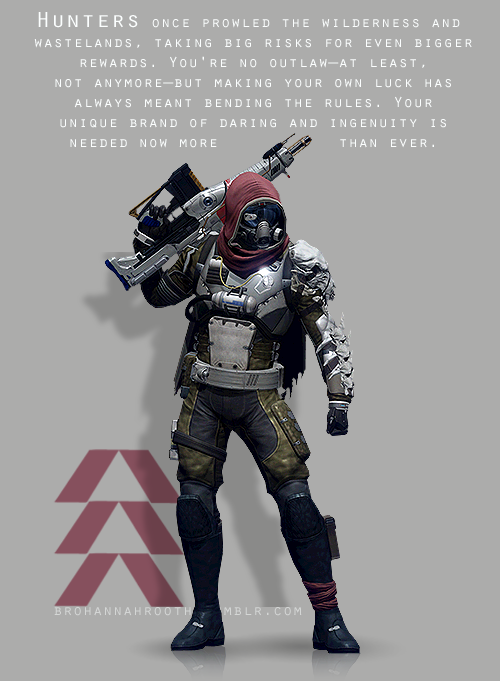 Destiny - The Hunter by HannahRooth