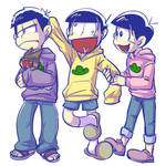Osomatsu-san - younger brothers