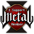 I Support Metal Member Badge by Matzeline