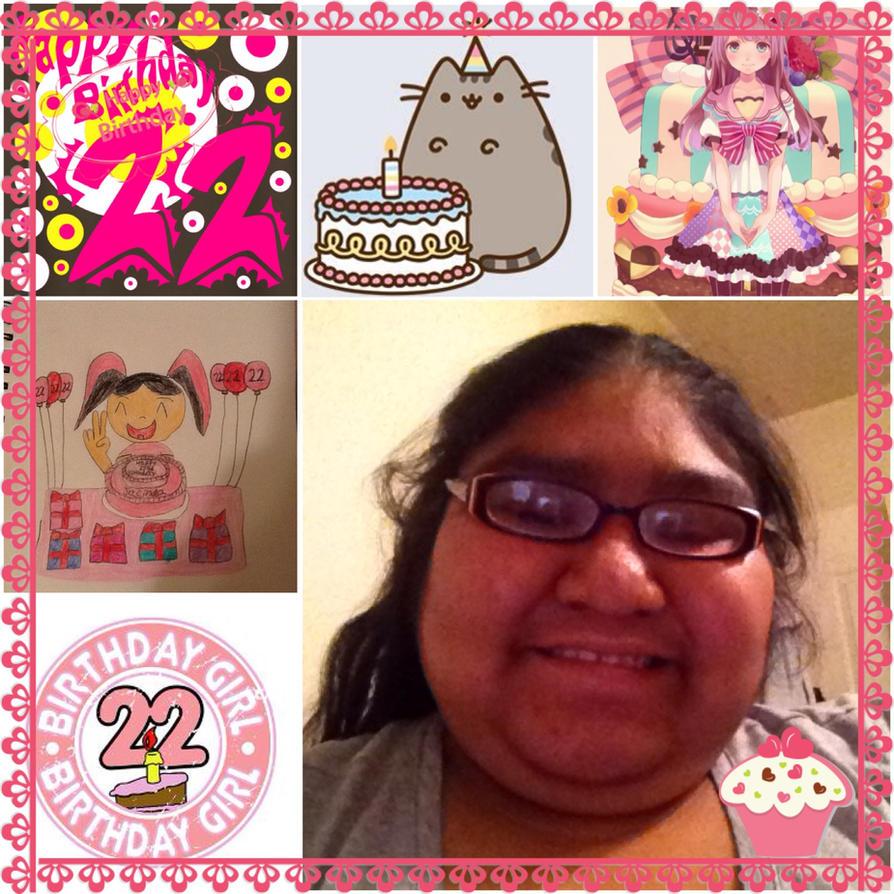 22nd Birthday Ideas In November: Happy 22nd Birthday To Me By Animefangirl199 On DeviantArt