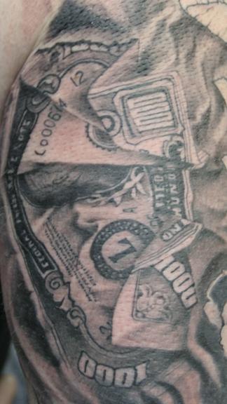 burning money by paintedpeople on deviantart