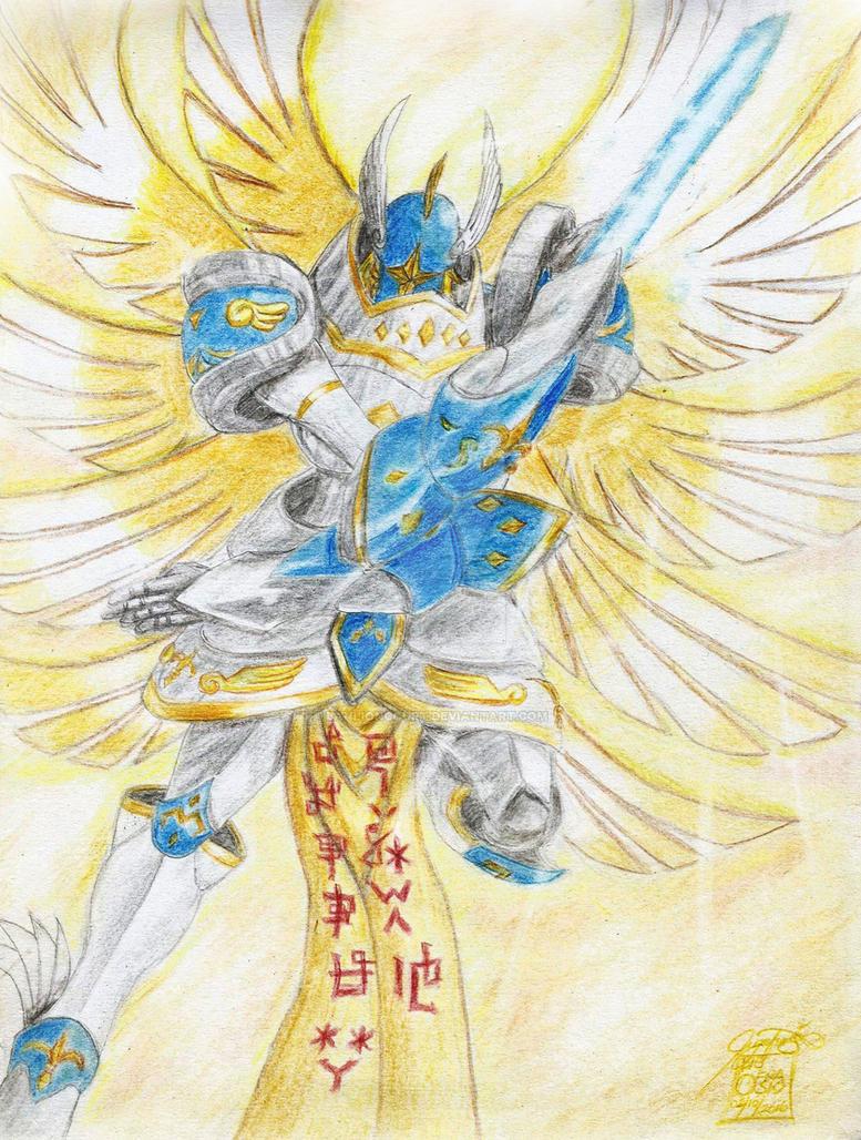 Seraphimon Wallpaper Seraphimon by banlionc...