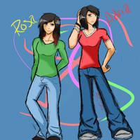 Sisters :Rosa And Adria: by ZankJra