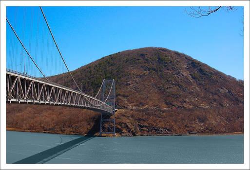 Cross a bridge, climb a mtn