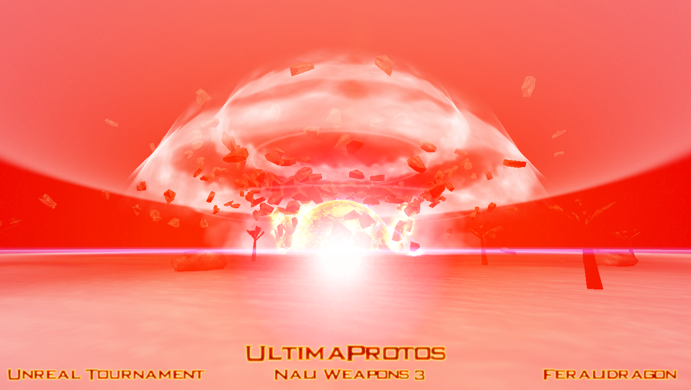 UltimaProtos nuclear explosion by Feralidragon