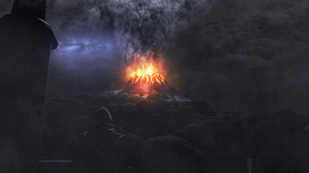 Volcano Eruption Live Wallpaper