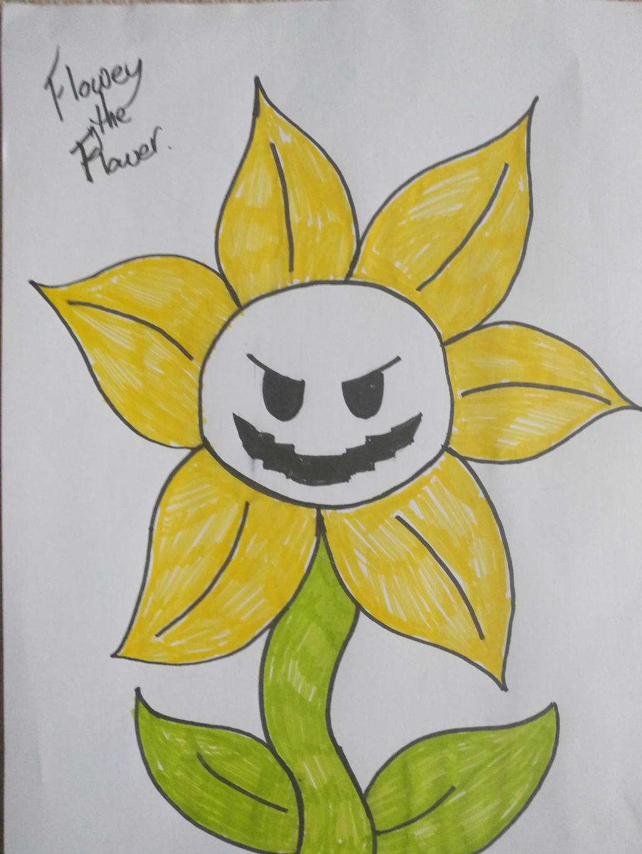 Flowey the Flower by Zoroark18 on DeviantArt