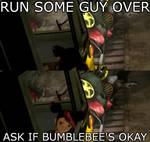RUN SOMEONE OVER...