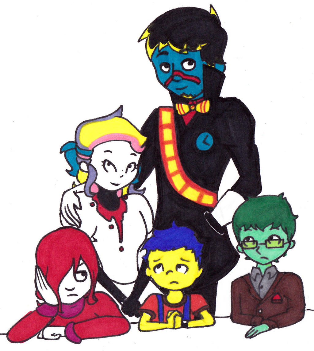 Family Photo by GirlWithTheGreenHat