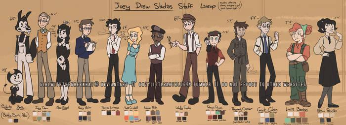 Ask-joeydrewstudios Staff Lineup [FINAL]