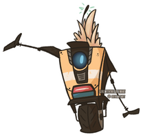 Mohawk Claptrap by GirlWithTheGreenHat