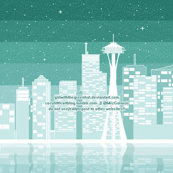 Minty Seattle by GirlWithTheGreenHat