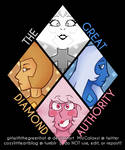 the great diamond authority [ON REDBUBBLE]