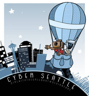cyber seattle poster