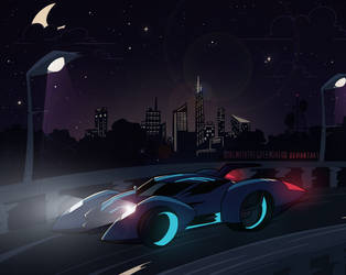 night drive by GirlWithTheGreenHat