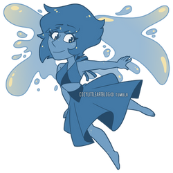 a lil lapis [on redbubble] by GirlWithTheGreenHat