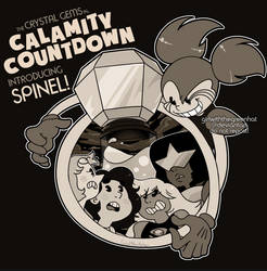 CALAMITY COUNTDOWN (NOW AVAILABLE ON REDBUBBLE!)