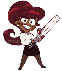 commission - [ominous chainsaw sounds]