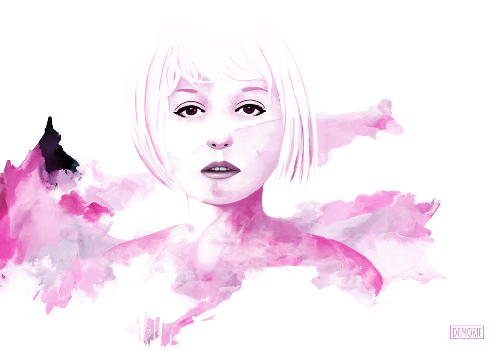 Violet Sky by Demorie-Art