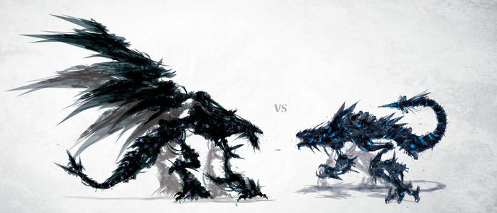 Karnage VS Coldfire by ChasingArtwork