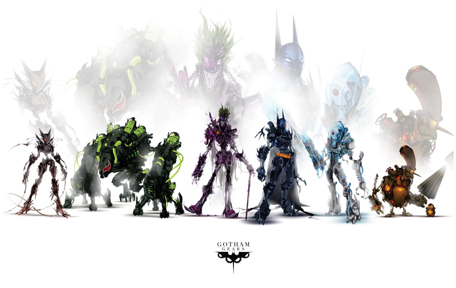 Gotham Gears by ChasingArtwork