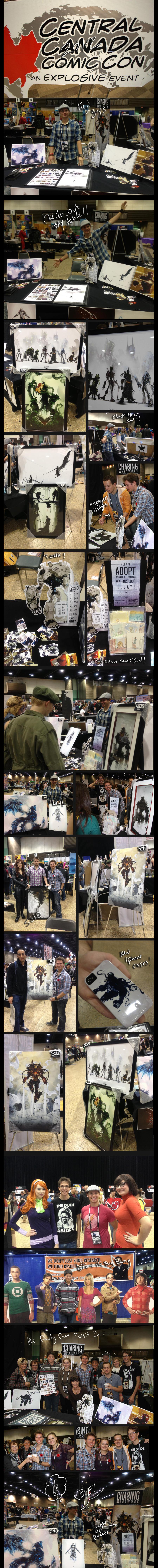 C4 Winnipeg Comic Con by ChasingArtwork