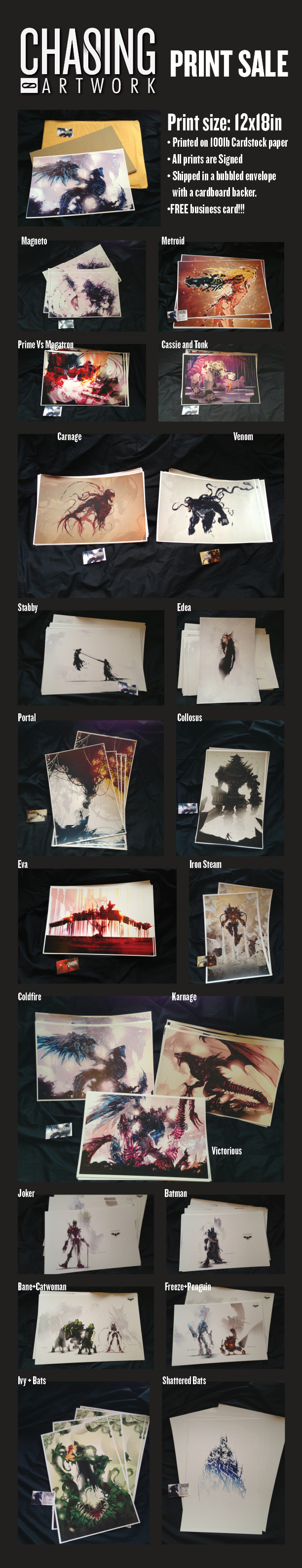 Print Sale by ChasingArtwork