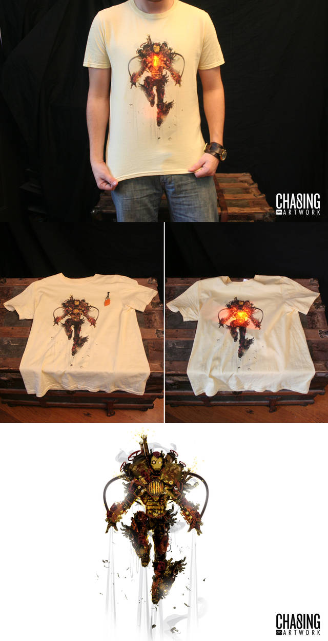 Light Up Steamy Tee by ChasingArtwork