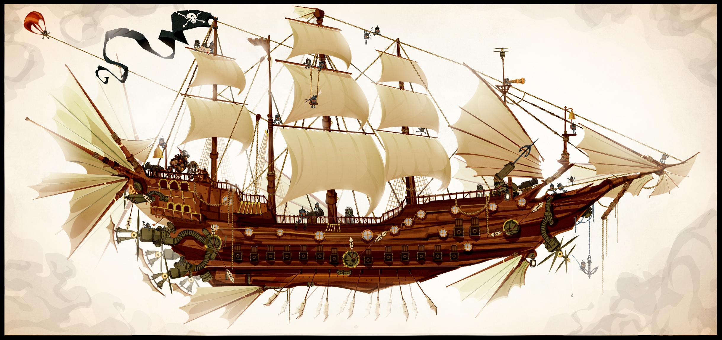 The Clockwork Pirateship