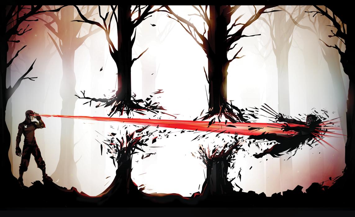 Wolverine Hunting by ChasingArtwork