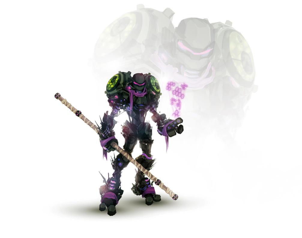 Turtle Tech: Donatello by ChasingArtwork