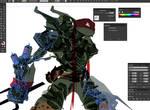 Work-In-Progress: Raph by ChasingArtwork