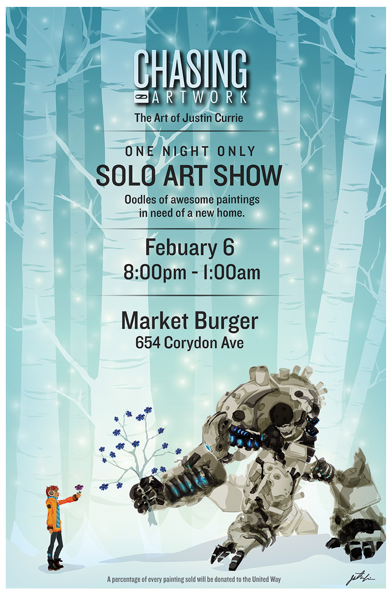 Solo Art Show by ChasingArtwork