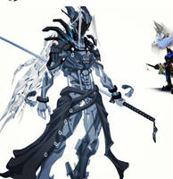 Sephiroth bot progress by ChasingArtwork