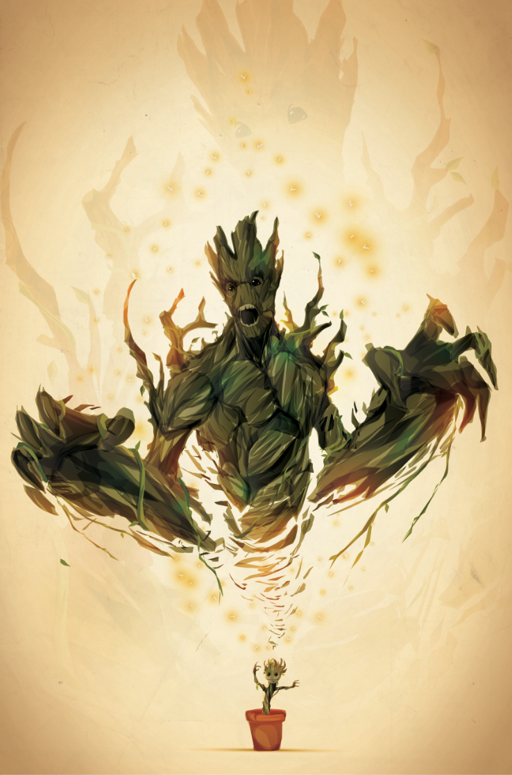 I Am Groot I AM GROOT. by Chasing...