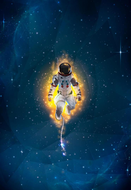обои космонавты