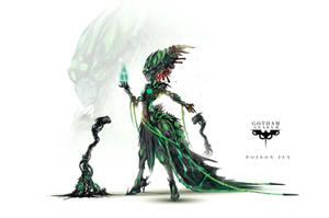 Gotham Gears II: Poison Ivy by ChasingArtwork