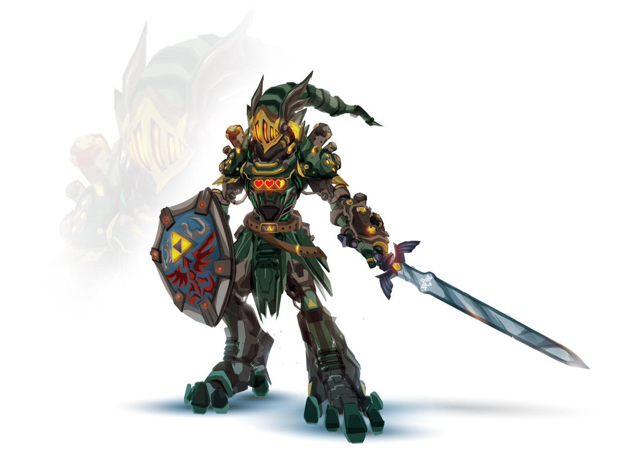 Zelda  Link Reforged by ChasingArtwork on DeviantArt