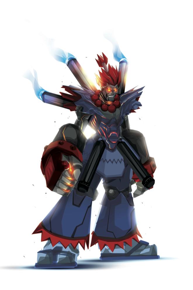 Robo Akuma by ChasingArtwork