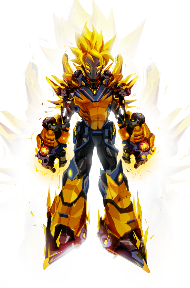 Kakarobot super saiyan by chasingartwork on deviantart - Super sayen 10 ...