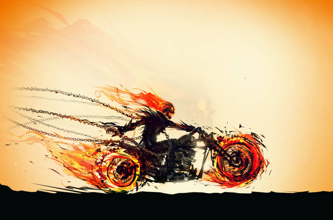 Hellfire of a Ride by ChasingArtwork